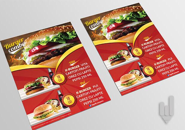afis-publicitar-fast-food
